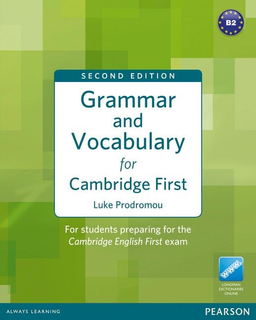 Grammar and vocabulary for cambridge firt b2 without key
