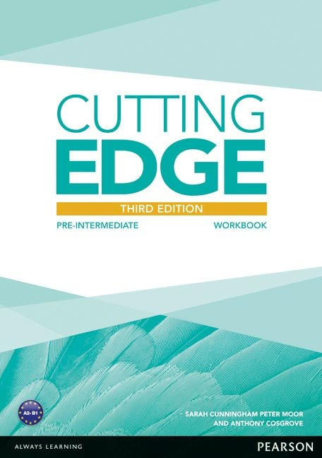 Cutting edge pre-interm.workbook without key 3rd edition ed.