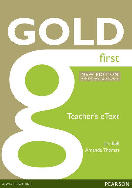 Gold first new edition etext teacher cd-rom