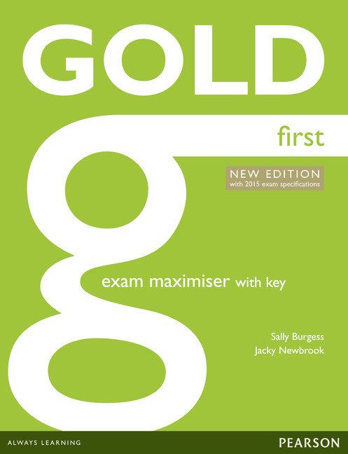 Gold first exam maximiser +online audio+key 2014