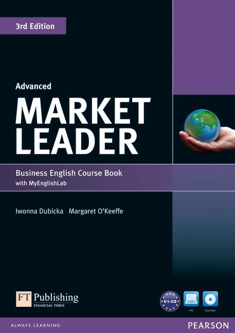 Market leader advanced coursebook with dvd-rom ed.2013
