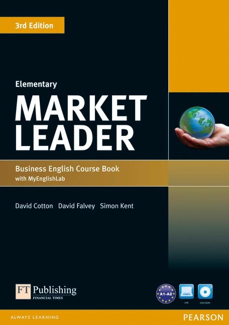 Market leader elementary coursebook with dvd-rom ed.2013