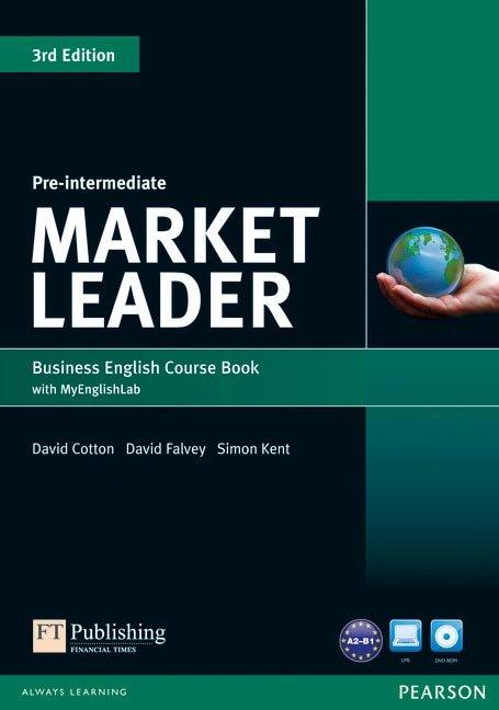 Market leader pre-intermediate coursebook with dvd ed.2013