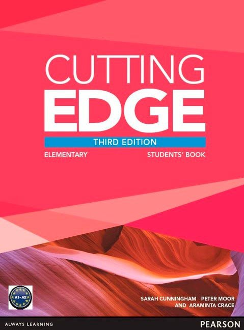Cutting edge elementary st pack book and dvd 13