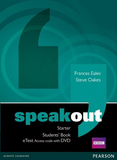Speakout starter students' book etext access card