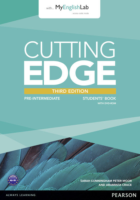Cutting edge 3rd edition pre-intermediate students' book wit