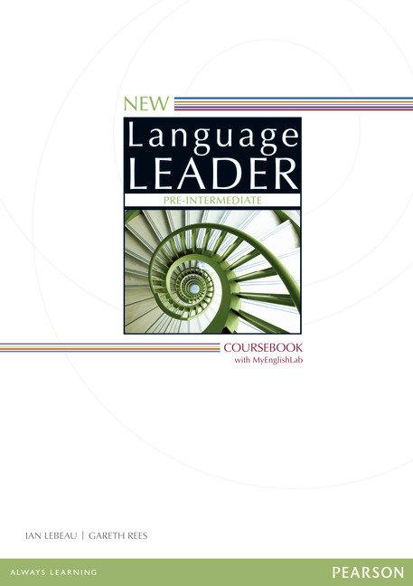 New language leader pre-intermediate coursebook wi