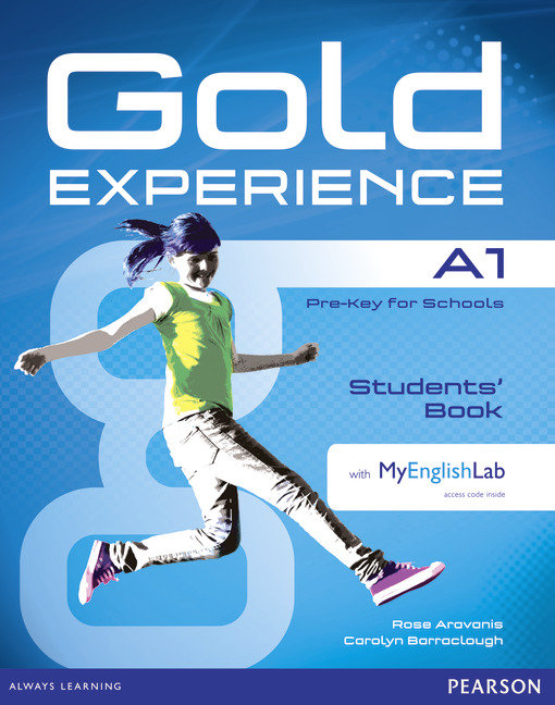 Gold experience a1 students' book with dvd-rom and