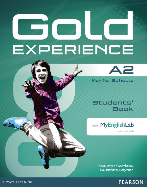 Gold experience a2 st+dvd+myenglishlab pack