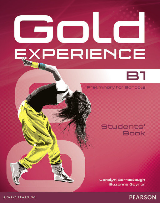 Gold experience b1 st+dvd