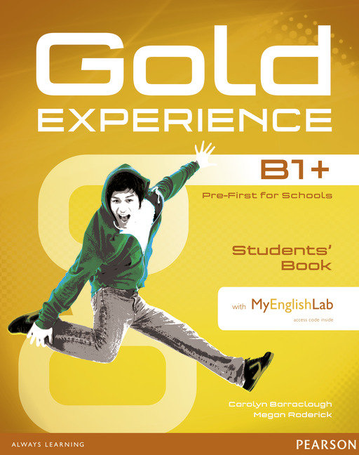 Gold experience b1+ st 15 with dvd-rom mylab pack