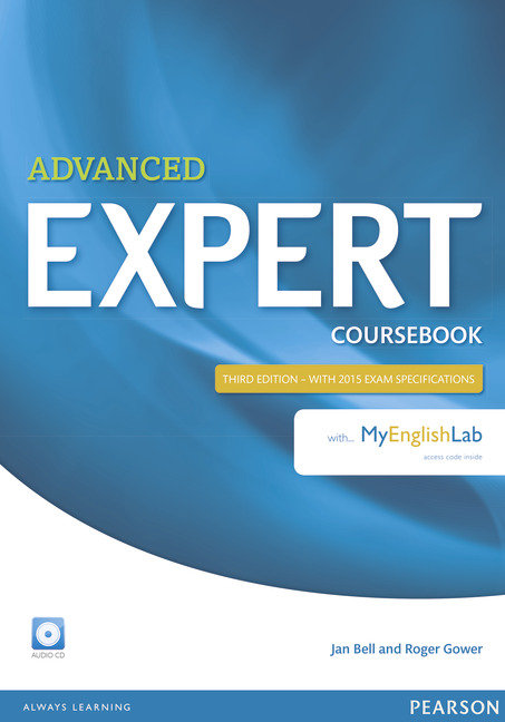 Expert advanced 3rd edition coursebook with audio cd and my
