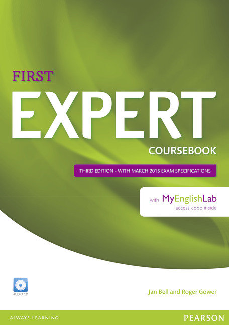 First expert coursebook audio cd and myenglis