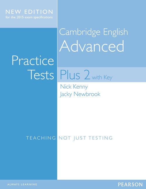 Cambridge english advanced test plus 2 cae 15