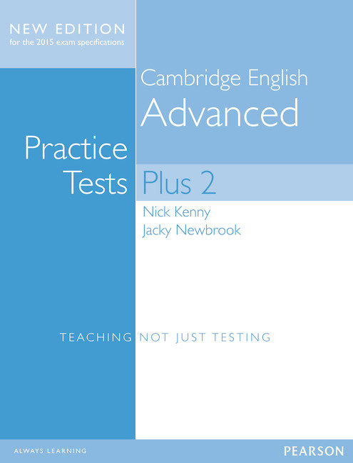 Advanced practice tests plus 2 15 st+key