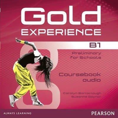 Gold experience b1 class audio cds