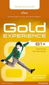 Gold experience b1+ 15 etext st access card