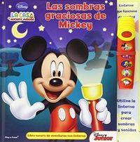 Sombras graciosas de mickey