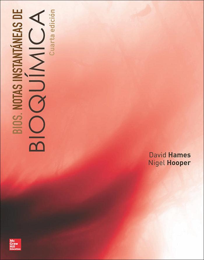 Notas instantaneas de bioquimica 4ºed