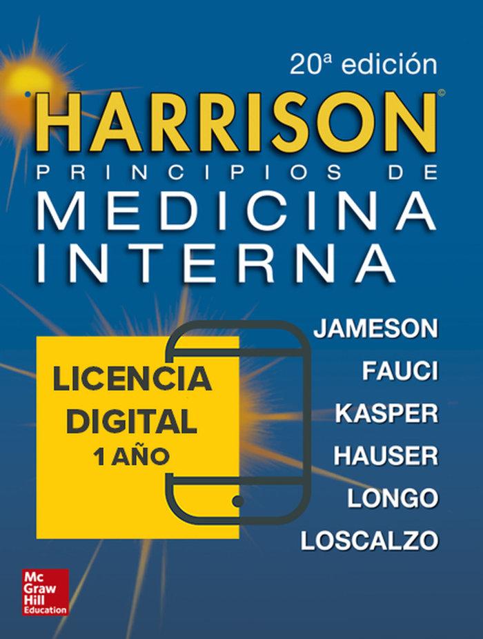 Harrison principios de medicina interna