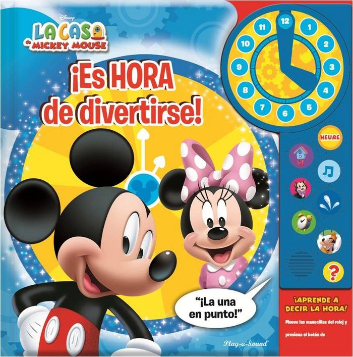 Mickey y minnie es hora de divertirse