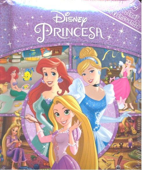 Mi primer busca y encuentra disney princesa