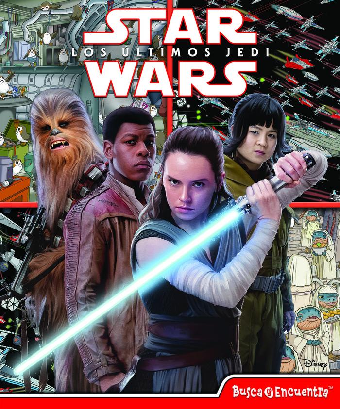 Busca y encuentra star wars episode viii