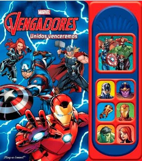 Avengers los vengadores 7 botones sonido