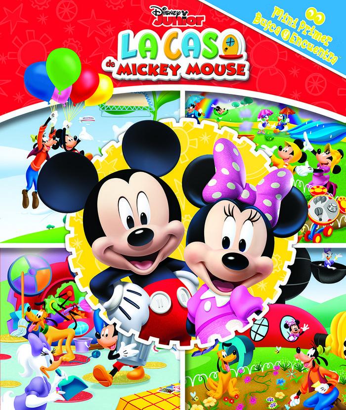 Casa mickey mouse mini primer busca y encuentra