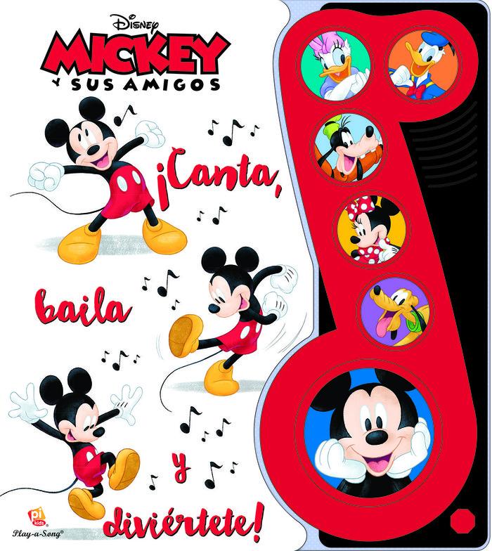 Mickey y sus amigos canta baila y diviertete