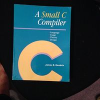 A small c compiler 2nd dsk.