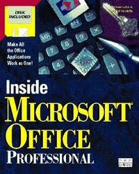 Inside microsoft office profes.-dsk