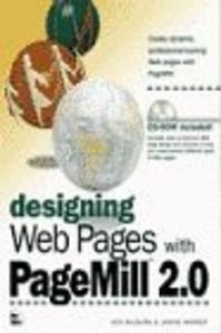 Designing web pages pagemill 2.0