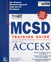 Mcsd training guide microsoft access