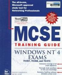 Mcse training.guide windows nt 4 exams