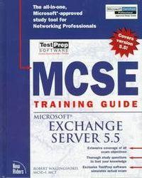 Mcse trining g.ms exchange server 5.5