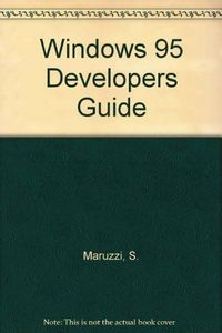 Ms win 95 developers guide