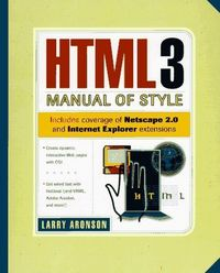 Html 3 manual of style