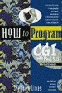 How to program cgi perl 5.0