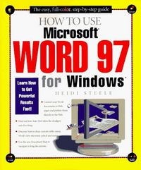 How to use microsoft word 97 wind.