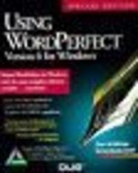 Using wordperfect v.6 windows ed.es.
