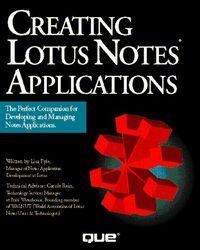 Creating lotus notes applications