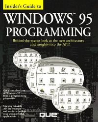 Windows 95 programming