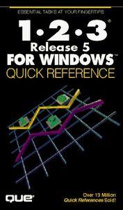 1-2-3 release 5 windows q.ref.
