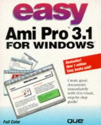 Easy ami pro 3.1 for windows