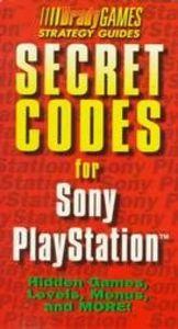 Secret codes sony playstation