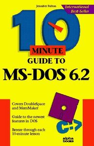 10 minute guide ms-dos 6.2