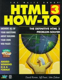Html 3 how-to-incluye cd rom