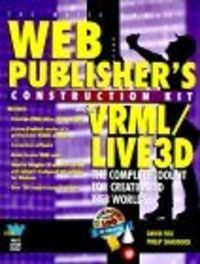 Web publisher's construc.vrml/live 3d