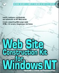 Web site construction kit wind.nt